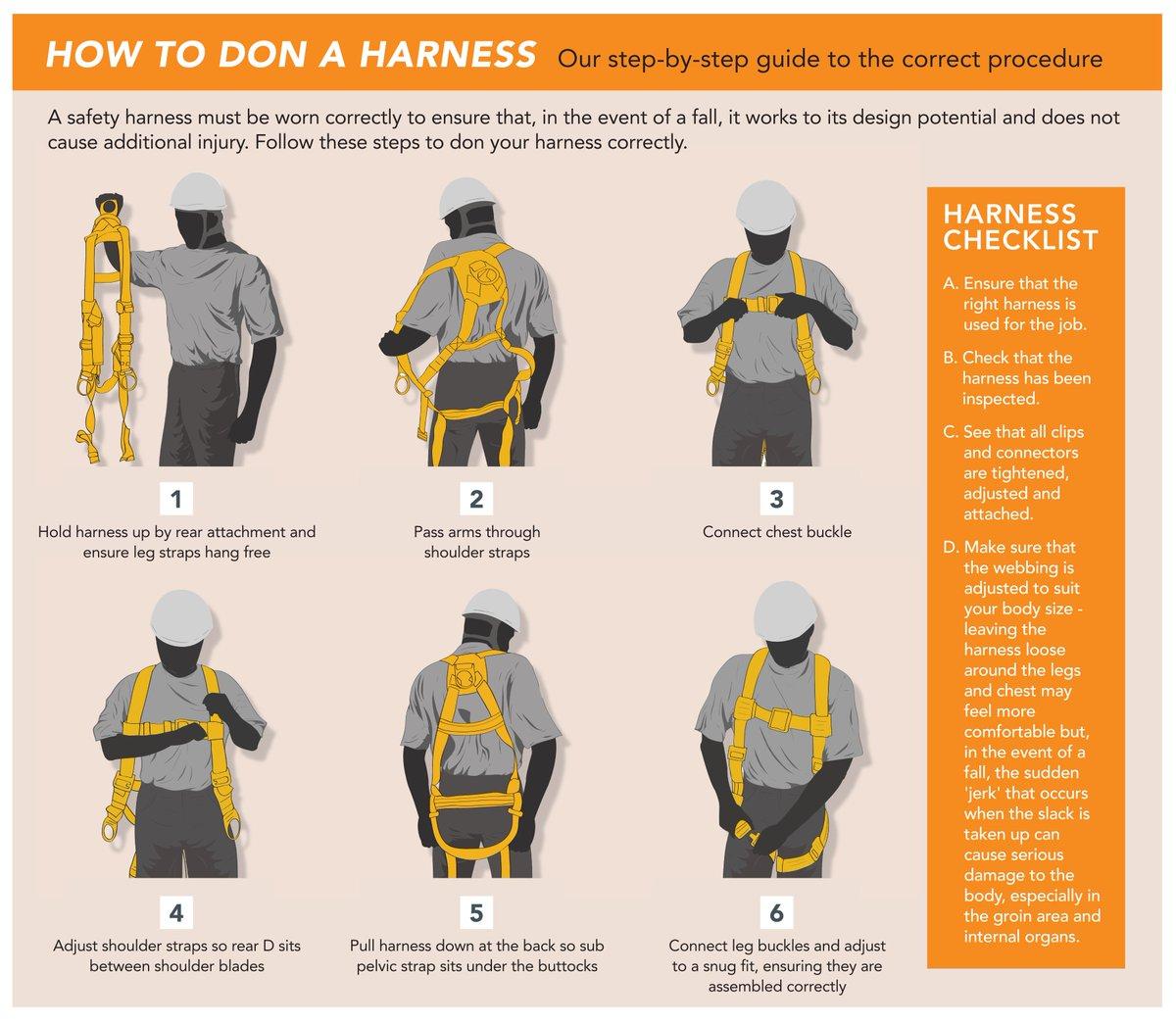 Scaffolder's Twin Leg Safety Harness Kit RGHK4 by RidgeGear